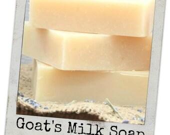 Goat's Milk Shampoo/Conditioning Bar..Hair, Body and Face Bar