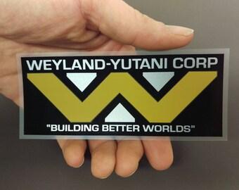 Weyland-Yutani corporation sticker decal from Aliens