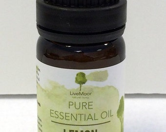 Lemon Essential Oil, 10ml