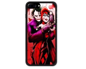 The Joker & Harley Quinn iPhone 6 6S 6/6S Plus Case, iPhone 7 / 7 Plus Case,  Samsung Galaxy S7 / S7 Edge / S8 / S8 Plus Case  Batman