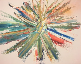 "Color Explosion 20"" x 16"""