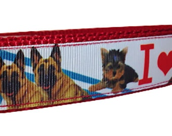 German Shepherd Medium Martingale Dog Collar - SUMMER SALE