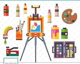 Easel clipart   Etsy