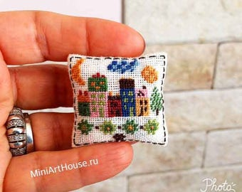 miniature pillow