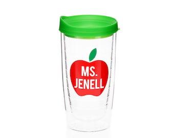 Teacher Gift - Personalized Teacher Gift - Personalized Apple - Teacher Appreciation Gift - Thank You Teacher - Preschool Teacher Gift