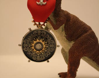 Steampunk Medal  with Fleur De Awesome.