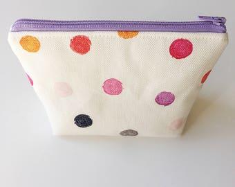Make up bag - Mini pouch - Mini make up bag - Cosmetics bag - Accessories