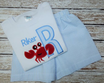 Boy's SUMMER SHORT Set; Boy's shorts; Boy's summer shirt; Boy's beach outfit; Boy's summer shorts and shirt