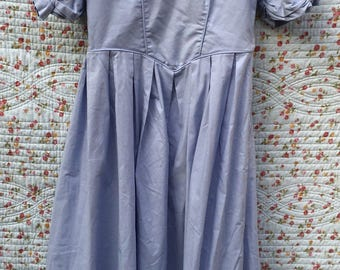 Lovely blue vintage dress by Laura Ashley