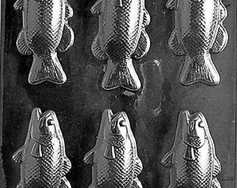 Bass Fish Bars Chocolate Mold - N053