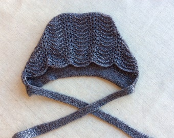 Lace hat for girl vintage style