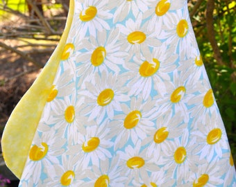Pretty cotton sundress in daisy pattern