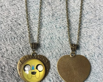 Adventure Time Jake The Dog Necklace