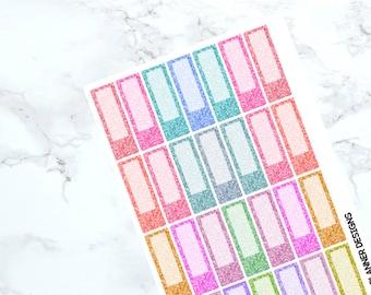 Glitter Event Label Stickers