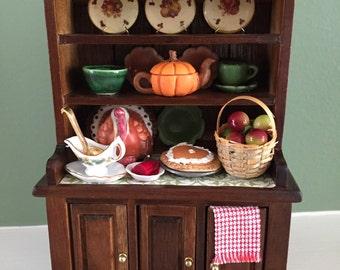 Autumn Dollhouse Hutch