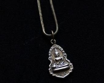Buddha Chain - Bronze - Zen - Yoga - Thai - Travel - Buddhism - Spirit - Ethnic - Boho - Gypsy -