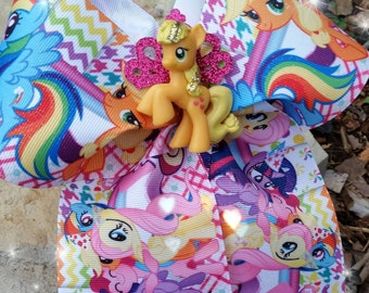 My Little Pony Bows, my little pony bow, MLP bows, bows
