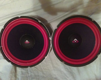 """Cerwin Vega 12"""" Woofers Last Ones! Re-Fabricated with OEM Components Real  CV parts=Real CV thump"""