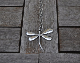 Necklace Dragonfly and chain