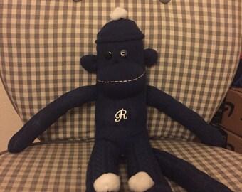 Custom sock monkey