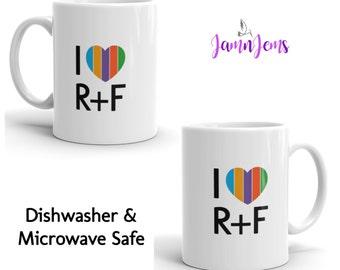 Rodan and Fields Mug, I Heart Rodan and Fields 11oz. Coffee Mug, Rodan Fields Cup, Gift for Rodan and Field, Dishwasher and Microwave Safe
