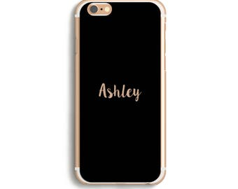 Name iPhone Case, Custom iphone 7 Case, Phone Case Custom, i phone 7 case, i phone 6 case, i phone 6s case, i phone 6 plus case / Clear name