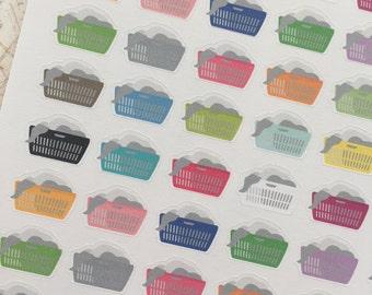 colorful laundry baskets (mini)