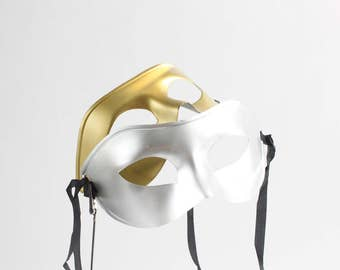 Phantom of the Opera Masks, Masquerade Party Pack Gold & Silver 1 dz, Mardi Gras, Just the Mask, Venetian, Costume, overthetopcaketopper