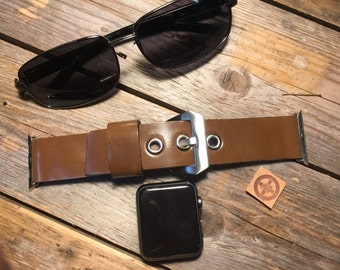 Apple Watch Leather Strap Band - 42mm, 38mm Men or Women