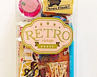on sale retro themed snailmail kit snail mail kit letter writing kit retro postal vintage paper craft letter writing set stationery