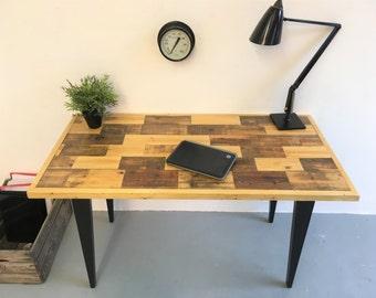 Reclaimed Solid Wood Desk handmade