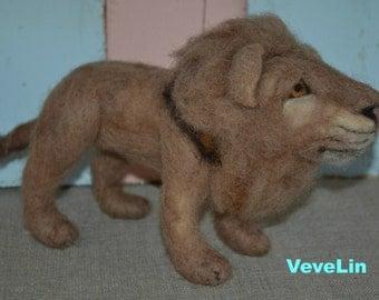 Needle Felted  Lion  :o)