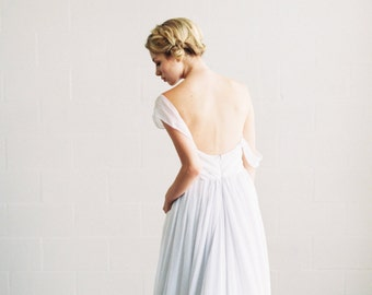 Ivy Dress //  silk chiffon wedding dress