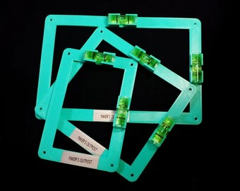 EZ-Mark Single, Double And Triple Gang Old Work Electrical Box Templates