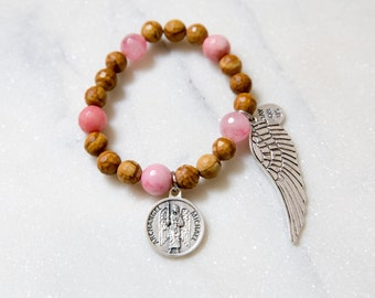 St. Michael the Archangel with wing bracelet
