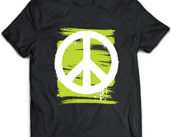 Peace T-Shirt. Peace tee present. Peace tshirt gift idea. - Proudly Made in the USA!