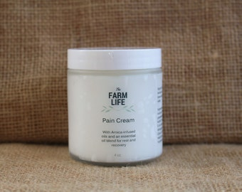 Pain Cream - organically made with essential oils