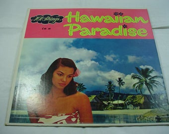 101 Strings - Hawaiian Paradise - SF-12800 - 1961