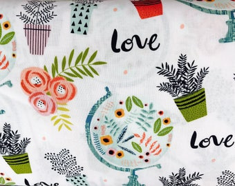 World Lover Crib Sheet