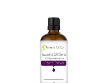 French Thieves Essential Oil Blend 100% Pure 10ml 50ml 100ml