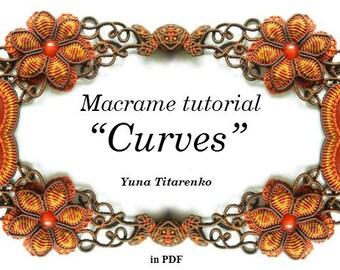 "Macrame tutorial ""Curves"""