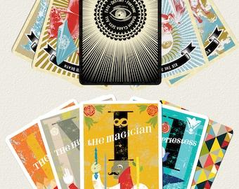 20 DECK DEAL: 10 Madam Clara Sees All Original Tarot + 10 Midcenturian Tarot card decks