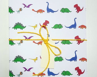 Lots of Dinosaurs A5 Notebook