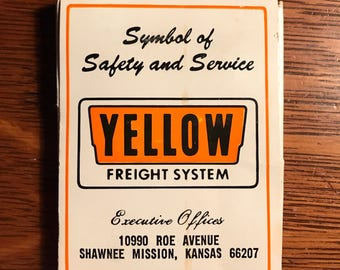 Yellow Freight System glasses wipes