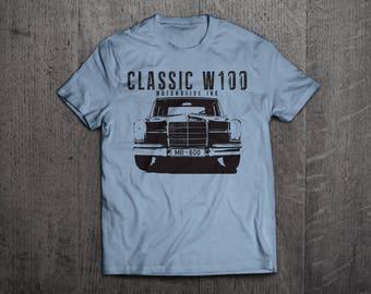 Mercedes MB 600 Shirts, Mercedes t shirts, Classic Benz shirts, Cars shirts, men t shirt, women t shirt, vintage car shirts, W100 Benz