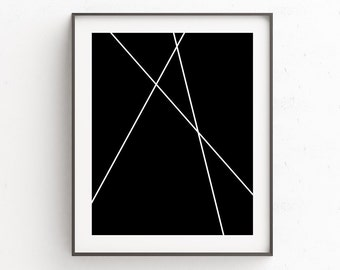 Modern Wall Artwork | Nordic Minimal Art | Wall Decor