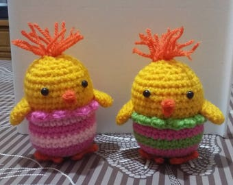Easter chicks (easter chick) | Amigurumi