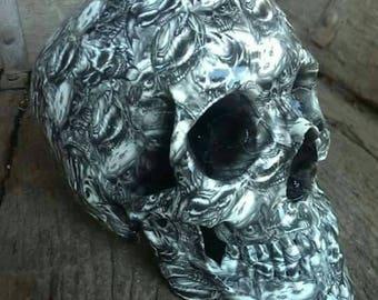 Life after death skull