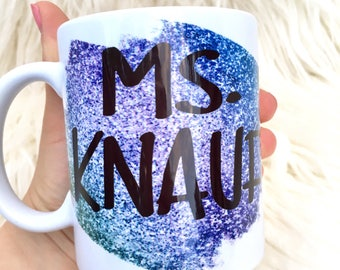 Personalized Teacher Gift, Teacher Appreciation Gift, Teacher gifts, Gifts for Teachers, Unique Gifts for Teachers, Personalize coffee mug