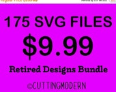 40% OFF SALE Retired Designs Sale from 2015  - Modern Svg Files - Huge Savings - Silhouette Cameo - Cricut- Vinyl Projects - Diy